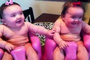 Most Funny Twin babies Laughing, Crying